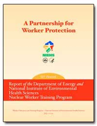 A Partnership for Worker Protection by Environmental Protection Agency