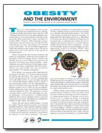 Obesity and the Environment by Environmental Protection Agency