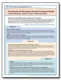 Teaching Across Disciplines Using Enviro... by O'Fallon, Liam R.