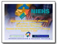 Applicant Information Meeting Request fo... by Environmental Protection Agency