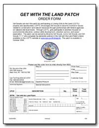 Get with the Land Patch by Environmental Protection Agency
