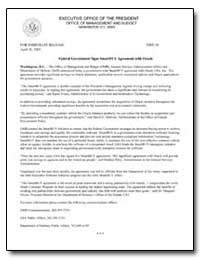 Federal Government Signs Smartbuy Agreem... by Environmental Protection Agency