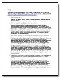 Lead Agency/Bureau And/Or Subcommittee/W... by Environmental Protection Agency