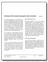Standards of the Federal Geographic Data... by Environmental Protection Agency