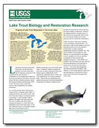 Lake Trout Biology and Restoration Resea... by Environmental Protection Agency