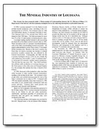 The Mineral Industry of Louisiana by Haque, Syed M.