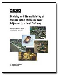 Toxicity and Bioavailability of Metals i... by Environmental Protection Agency
