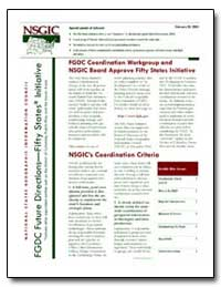Fgdc Coordination Workgroup and Nsgic Bo... by Environmental Protection Agency