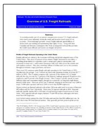 Overview of U.S. Freight Railroads by Environmental Protection Agency