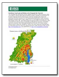 Identifying Critical Lands and Habitats ... by Environmental Protection Agency