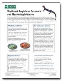 Southeast Amphibian Research and Monitor... by Environmental Protection Agency