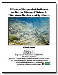 Effects of Suspended Sediment on Native ... by Doisy, Kathy E.