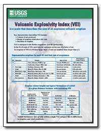 Volcanic Explosivity Index(Vei) by Environmental Protection Agency