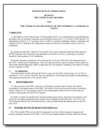 Memorandum of Understanding between the ... by Environmental Protection Agency