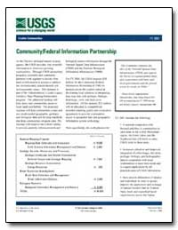 Community/Federal Information Partnershi... by Environmental Protection Agency