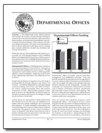 Departmental Offices Funding by Environmental Protection Agency