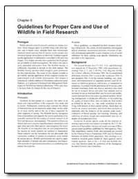 Guidelines for Proper Care and Use of Wi... by Environmental Protection Agency