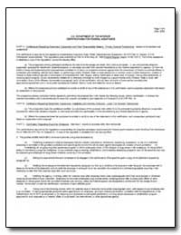 U.S. Department of the Interior Certific... by Environmental Protection Agency