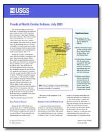 Floods of North-Central Indiana, July 20... by Environmental Protection Agency