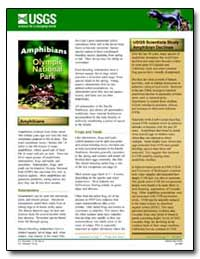 Amphibians of Olympic National Park by Environmental Protection Agency