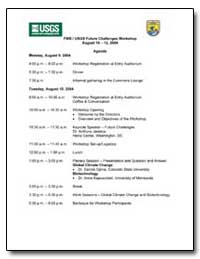 Fws/Usgs Future Challenges Workshop by Environmental Protection Agency
