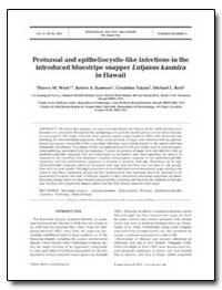 Protozoal and Epitheliocystis-Like Infec... by Environmental Protection Agency