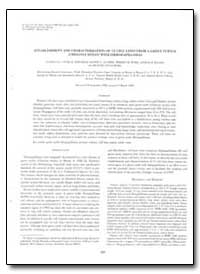 Establishment and Characterization of 13... by Environmental Protection Agency