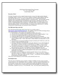Usgs National Hydrography Dataset Newsle... by Simley, Jeff