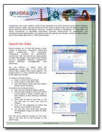 Geodata. Gov the Newly Updated Portal by Environmental Protection Agency