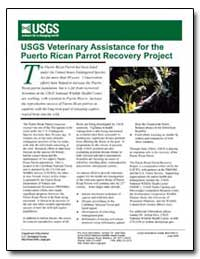 Usgs Veterinary Assistance for the Puert... by Environmental Protection Agency