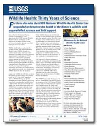 Wildlife Health : Thirty Years of Scienc... by Slota, Paul