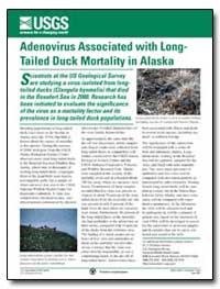 Adenovirus Associated with Long- Tailed ... by Environmental Protection Agency
