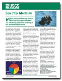 Sea Otter Mortality by Environmental Protection Agency