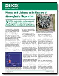 Plants and Lichens as Indicators of Atmo... by Environmental Protection Agency