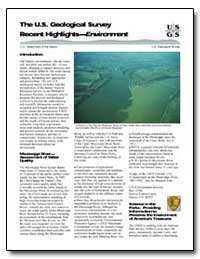 The U.S. Geological Survey Recent Highli... by Environmental Protection Agency