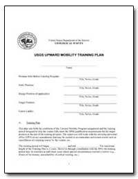 Usgs Upward Mobility Training Plan by Environmental Protection Agency