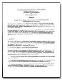Servicewide Memorandum of Understanding by Environmental Protection Agency