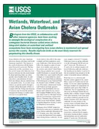 Wetlands, Waterfowl, And Avian Cholera O... by Environmental Protection Agency