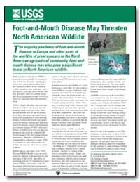 Foot-And-Mouth Disease May Threaten Nort... by Environmental Protection Agency