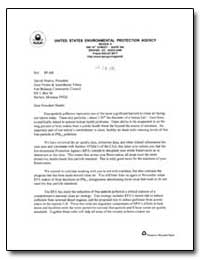 United States Environmental Protection A... by Martin, Darrell