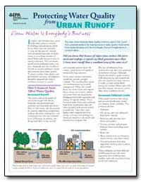 Protecting Water Quality from Urban Runo... by Environmental Protection Agency