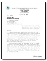 United States Environmental Protection A... by Rushin, Carol