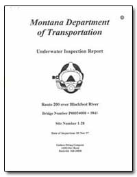 Montana Department of Transportation by Environmental Protection Agency