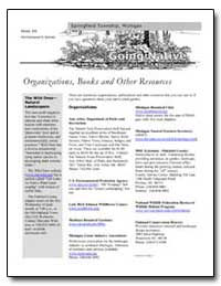 Organizations, Books and Other Resources by Environmental Protection Agency