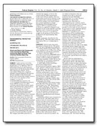 Dioxin and Dioxin-Like Compounds; Toxic ... by Environmental Protection Agency