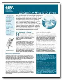 West Nile Virus (Wnv) First Appeared in ... by Environmental Protection Agency