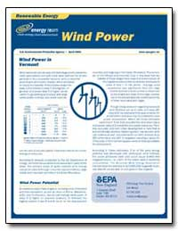 Wind Power in Vermont by Environmental Protection Agency