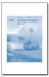 Preliminary Data Summary Airport Deicing... by Environmental Protection Agency