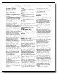 Department of Energy Federal Energy Regu... by Environmental Protection Agency