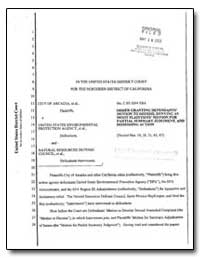 In the United States District Court for ... by Environmental Protection Agency